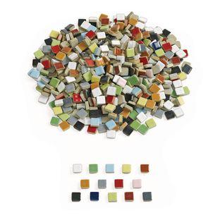 Ceramic Mosaic Tiles – 1 lb.
