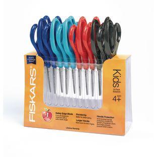 "Fiskars[r] for Kids 5"" Pointed Tip Scissors - Set of 12"