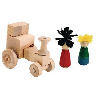 Bag of Assorted Wood Bits - 2-1/2 lbs