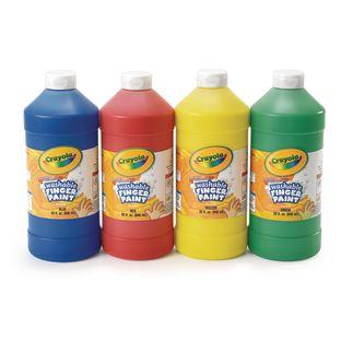 Crayola® 32 oz. Washable Finger Paint - Set of 4