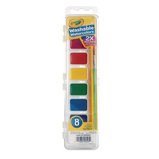 Crayola® 8 Washable Watercolor Paints