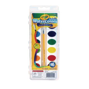 Crayola® Washable Watercolors – 16 Colors