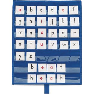 Really Good Stuff® Make-A-Word Desktop Pocket Chart™