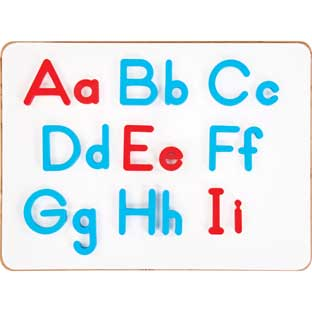 EZread™ Plastic Magnetic Letter Set