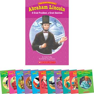 Easy Reader Biographies Set