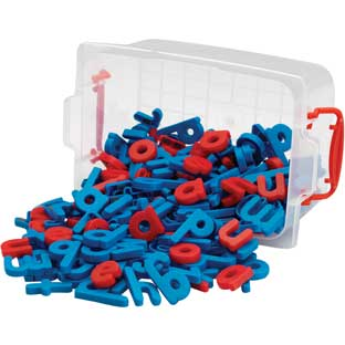 EZread™ Plastic Magnetic Letters Kit - 241 pieces