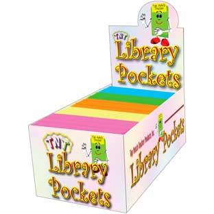 Library Pockets- Self Adhesive