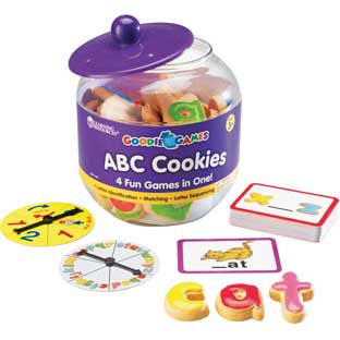 ABC Cookies Game - 135 pieces