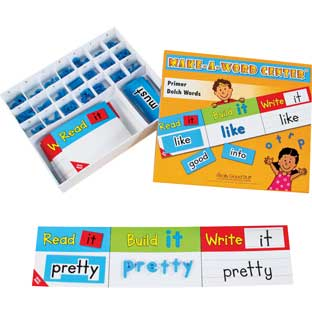 Make-A-Word Center™: Dolch Primer Words - 1 center