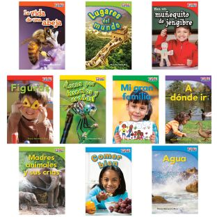 Time For Kids®: Nonfiction Readers Grade 1, Set 3 - Spanish