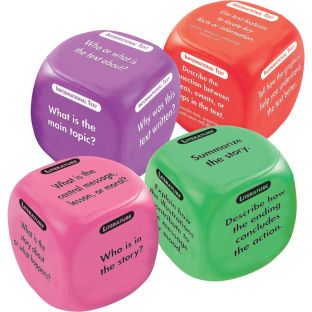 Comprehension Cubes 4-Pack