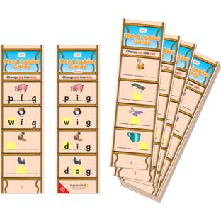 CVC Word Ladder Cards
