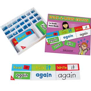 Make-A-Word Center™: 1st Grade Dolch Words
