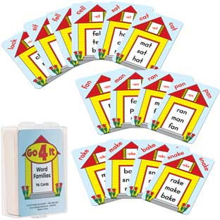 Go 4 It! Word Families - 97 cards
