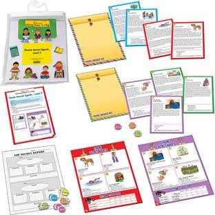 Theme Secret Agents Level 2 - Grades 4-5