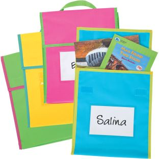 Store More® Medium Book Pouches - Neon Multicolor - Set Of 36