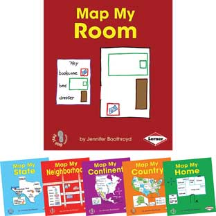 First Step Nonfiction Map It Out - 6-Book Set