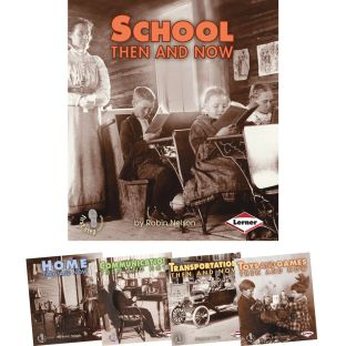First Step Nonfiction: Then And Now - 5-Book Set