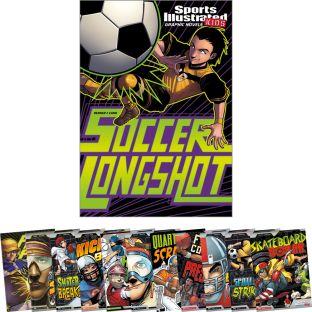 Sports Illustrated Kids Graphic Novels 12-Book Set