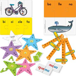 Spanish Syllable Kit - multi-item kit