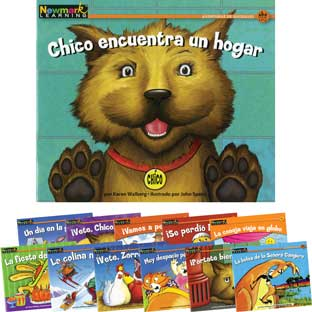 Rising Readers Fiction: Animal Adventures - Spanish - 12 books