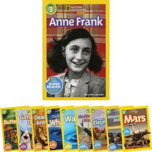 National Geographic Kids Geography Book Set -Lv.3