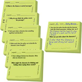 Common Core Study Stickies™: Literature Inferences - 600 stickies
