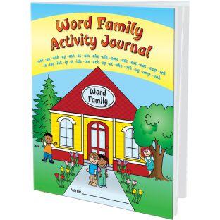 Word Families Activity Journals - 12 journals