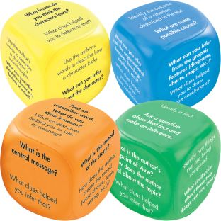 Common Core Inference Cubes - 4 cubes