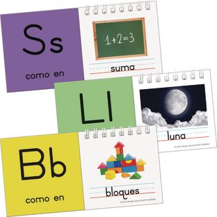 Spanish Alphabet Flip Books