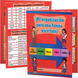 Spanish Writing Process Folder (Mi organizacion para una buena escritura) - 12 folders