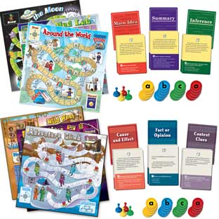 Comprehension Game Trio Set Of 2 :  Grades 4-5