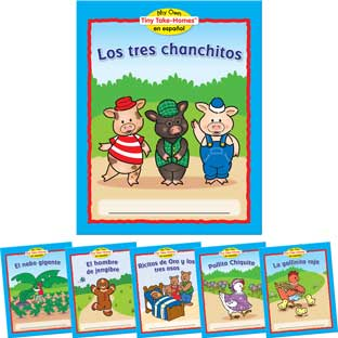 My Own Tiny Take-Homes™ En Espanol: Cuentos Populares (Folk tales) - 36 books