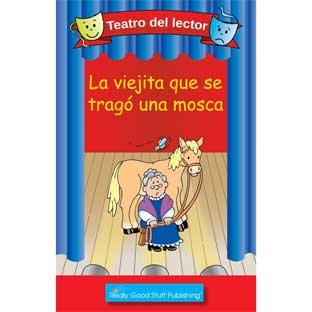 Really Good Readers' Theater: The Old Lady Who Swallowed A Fly (Teatro Del Lector: La Viejita Que Se Trago Una Mosca) - 6 books