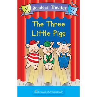 Really Good Readers' Theater - The Three Little Pigs Big Book
