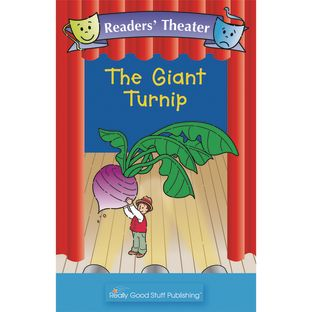 Really Good Readers' Theater - The Giant Turnip Big Book - 1 book