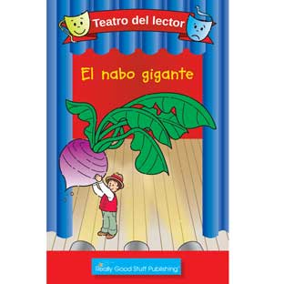 Really Good Spanish Readers' Theater: The Giant Turnip (Teatro Del Lector: El Nabo Gigante) - 6 books