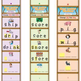 Word Ladder Card Sets