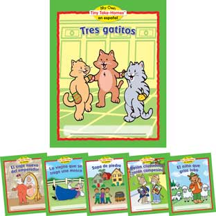 My Own Tiny Take-Homes™ En Espanol: Folktales (Cuentos Populares) - Set 2