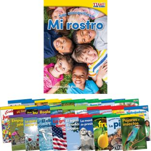 Time for Kids® Informational Text - 30 Books - Grade K - Spanish