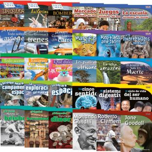 Time for Kids® Informational Text - 30 Books - Grade 3 - Spanish