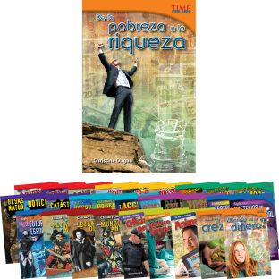 Time for Kids® Informational Text - 30 Books - Grade 5 - Spanish