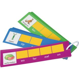 Ezread™ Tap-A-Syllable Cards - 75 cards