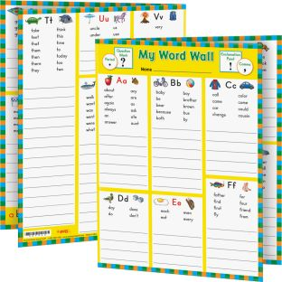 My Word Wall Folders: Grade 1 - 12 folders