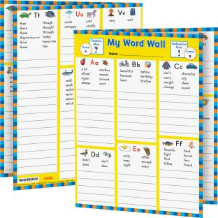 My Word Wall Folders: Grade 2 - 12 folders