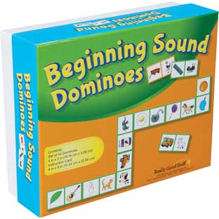 Beginning Sound Dominoes - 1 game