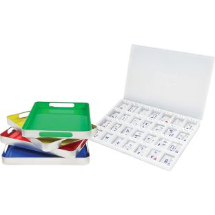 Magtivity™ Tins With Vinyl Magnetic Letters Classroom Kit