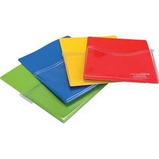 Large Group-Colors Magnetic Storage Pockets - 4 pockets