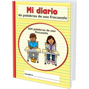 Mi diario de palabras de uso frecuente (Spanish High-Frequency Word Journals) - 12 journals