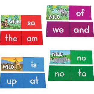 First Sight Word Safari Dominoes - 36 dominoes